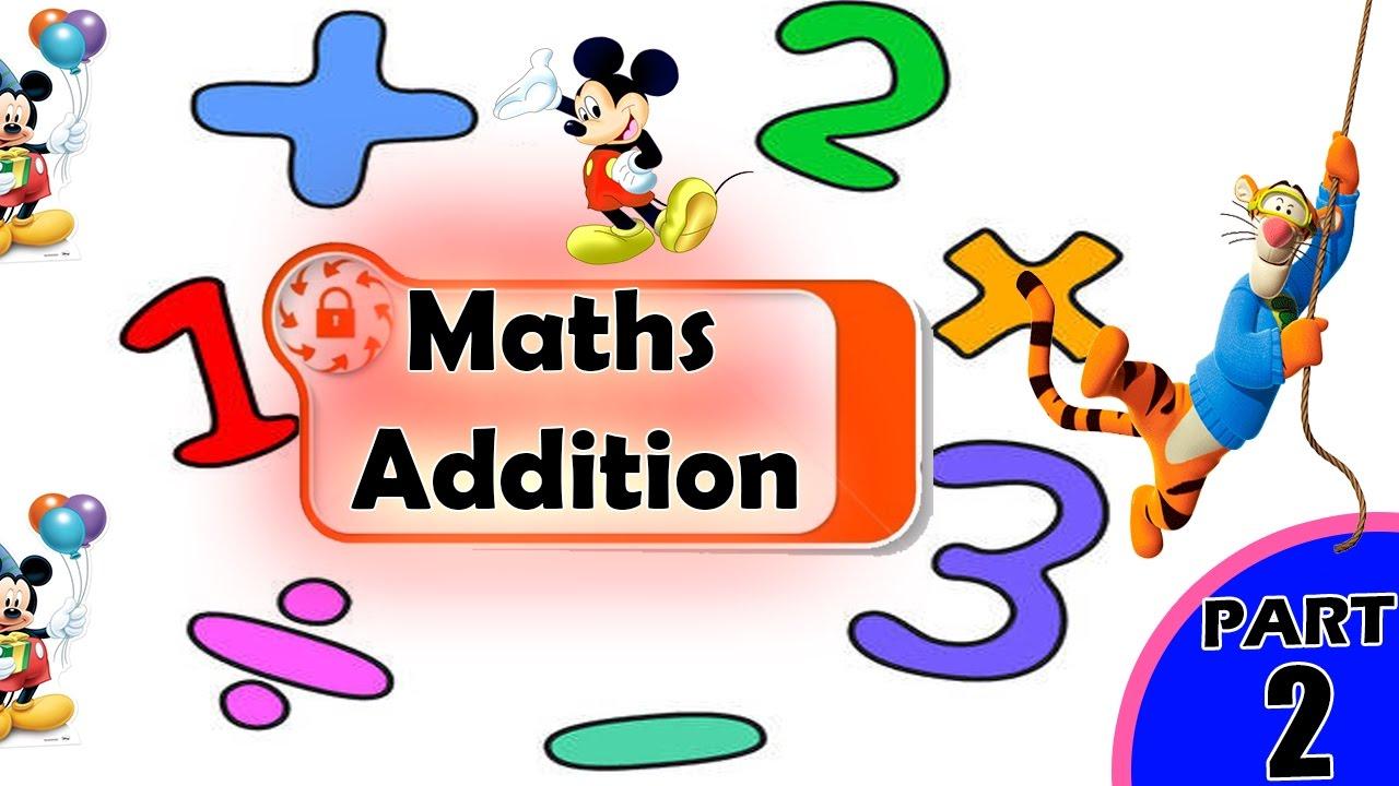 Basic Addition for Kids | Addition for Kids | Maths for Kids ...