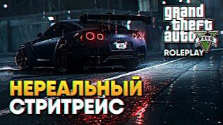 Лучшие Ночные Гонки штата GTA 5 Grand RolePlay прохождение ГТА 5 РП