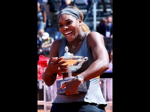 SERENA WILLIAMS WINS! ERRANI WEEPS! ROME WTA 2014 FINAL
