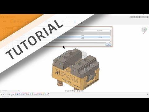 TUTORIAL: Parametric Vise Assembly thumbnail