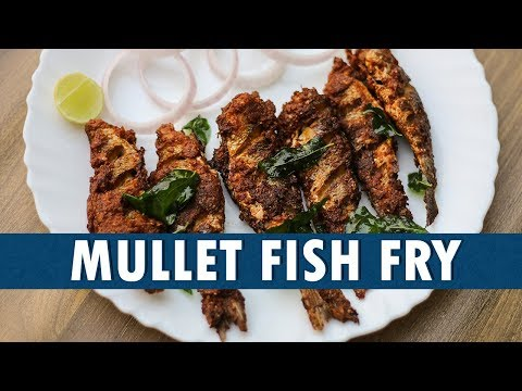Mullet Fish Fry || How To Prepare Mullet Fish Fry || Mullet Fish Fry Recipe || Wirally Food