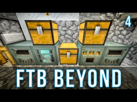 Automatic Ore Processing | FTB Beyond | Episode 4