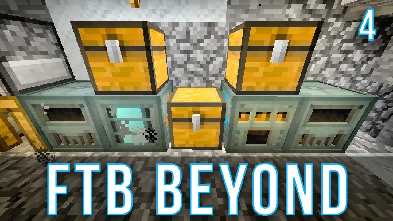Automatic Ore Processing | FTB Beyond | Episode 4