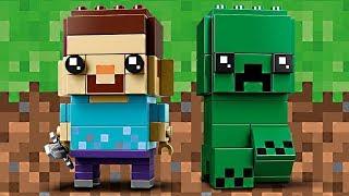 LEGO Minecraft BrickHeadz - Am I supposed to HATE these?