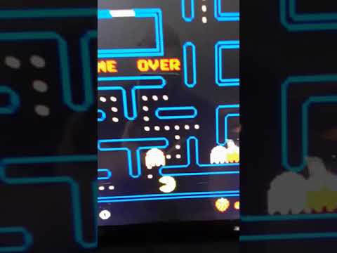 Frozen Blurry Arcade1Up 40th Anniversary Pac Man from MrMeepzor