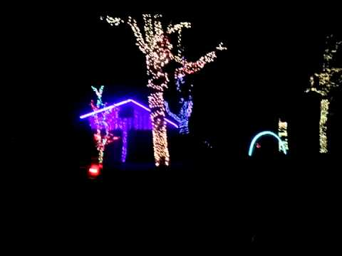 Oklahoma City Christmas light show