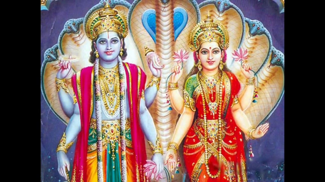 Beautiful Good Morning Greetings Wishes With Lord Vishnu Wallpapers