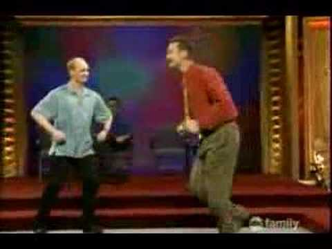 "Whose Line: Show stopping ""cheese factory"" number"