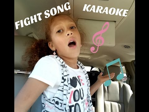 KIDS KARAOKE | FIGHT SONG