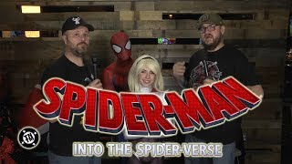 Spider Man into the Spider Verse movie review and audience reaction
