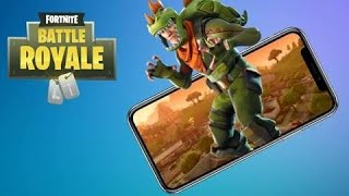 FORTNITE MOBILE BATTLE ROYALE FREE DOWNLOAD ANDROID/IOS