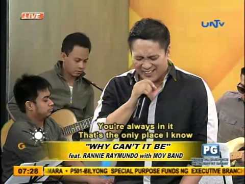 """""""Why Can't It Be"""" (feat. Rannie Raymundo with MOV Band)"""