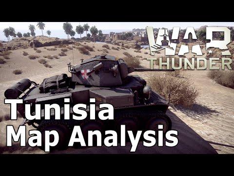 War Thunder - Map Analysis: Tunisia