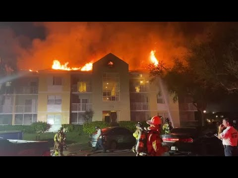 Florida News - Over 20 Families Displaced By Miami-Area Apartment Fire