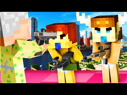 Minecraft - WHO'S YOUR DADDY - BABY BLOWS UP GRANDMA'S HOUSE!