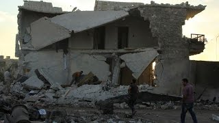 قصف عنيف على حلب بعد إعلان نظام الأسد بدء هجوم في المدينة