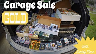 Garage Sales -  Best Sports Card Collection Ever