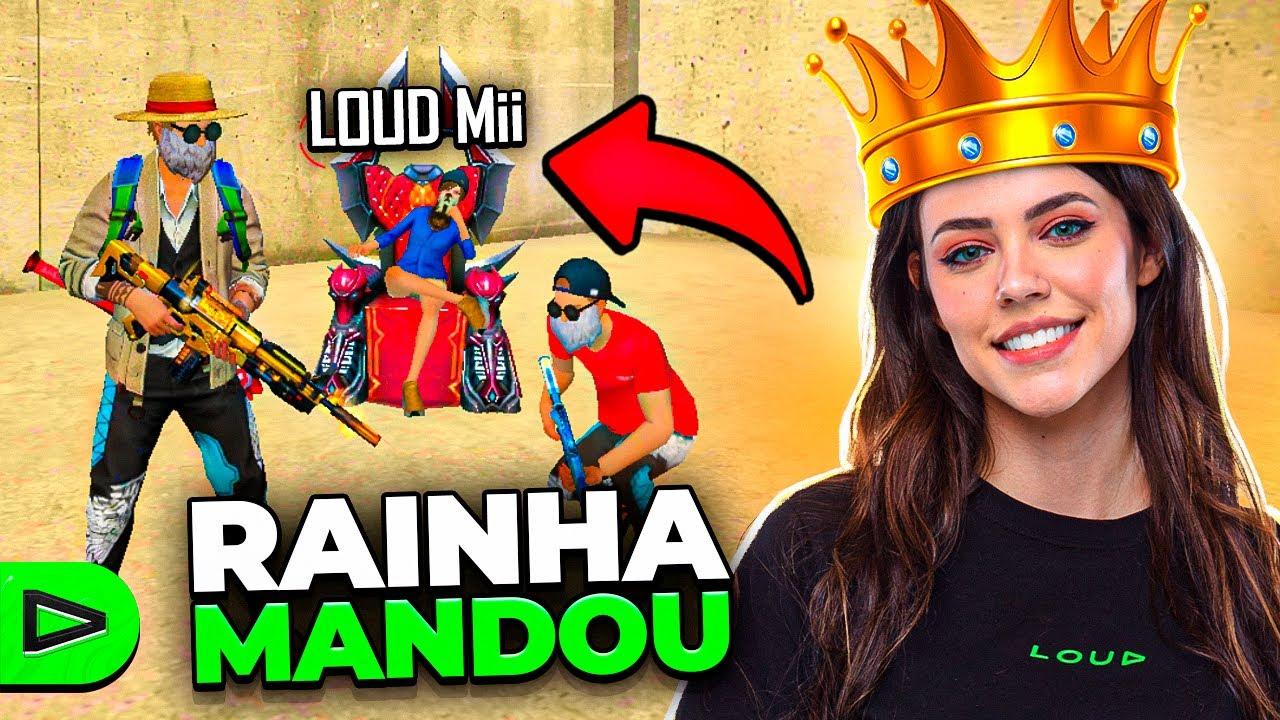 ELA DECIDE!! DESAFIO A RAINHA MANDOU NA LOUD FREE FIRE!!