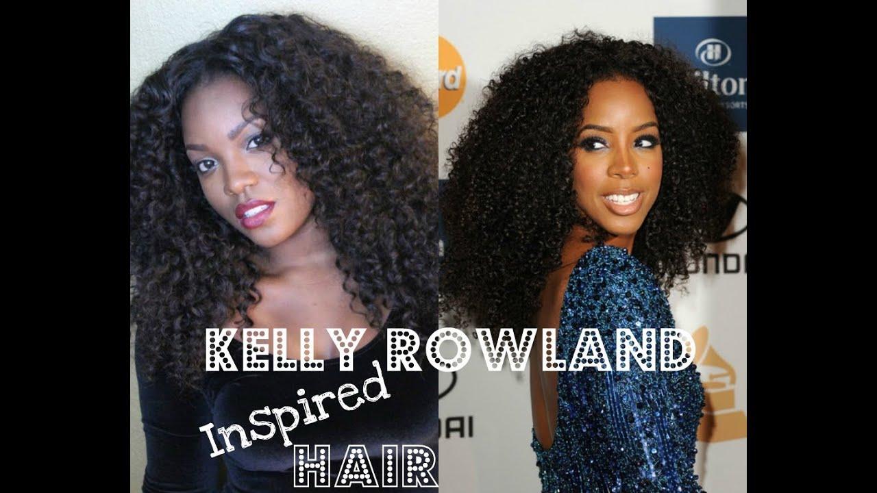 kelly rowland inspired hair