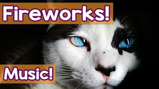 Music for Cats: How to Help My Cat, Scared of Loud Noises, Thunder and Fireworks! Music for Bangs!
