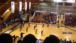 Purple Diamonds vs Dancing Dolls.