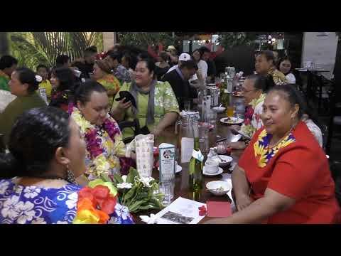 KOE CHRISTMAS DINNER AE FAMILI TUITUPOU 'O LOTO KOLOMOTUA AHO 16 DEC 2017 IHE VALENTINES NORTHSHORE