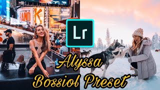HOW TO EDIT LIKE ALYSSA BOSSIOL (@lyss) | FREE LIGHTROOM MOBILE
