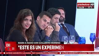 """Guillermo Moreno: """"Alberto Fernández en economía es neoliberal"""""""