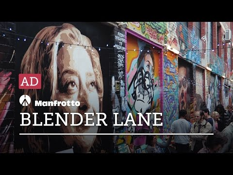 MANFROTTO BEFREE LIVE — Blender Lane Artist Market AD