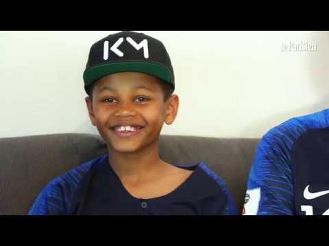 Daniel, 10 ans, remercie Kylian Mbappé pour son beau geste