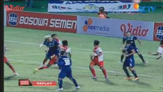 PSM Makassar vs Arema Cronus [0-1] Highlights TSC 12 Juni 2016