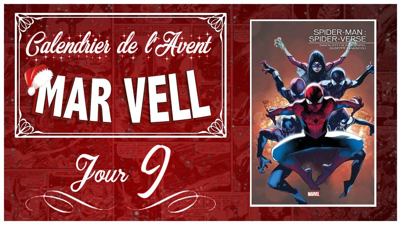 Calendrier De L Avent Spiderman.Jour 9 Spider Verse Calendrier De L Avent Mar Vell