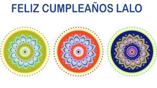 Lalo   Indian Designs - Happy Birthday