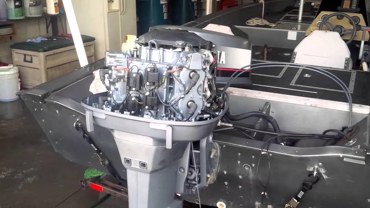 Yamaha  Stroke Outboard Carburetor Adjustment