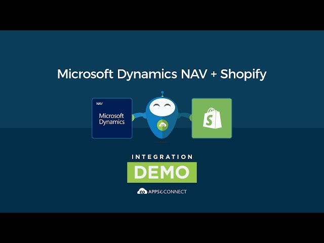 Microsoft Dynamics NAV and Shopify Integration | APPSeCONNECT