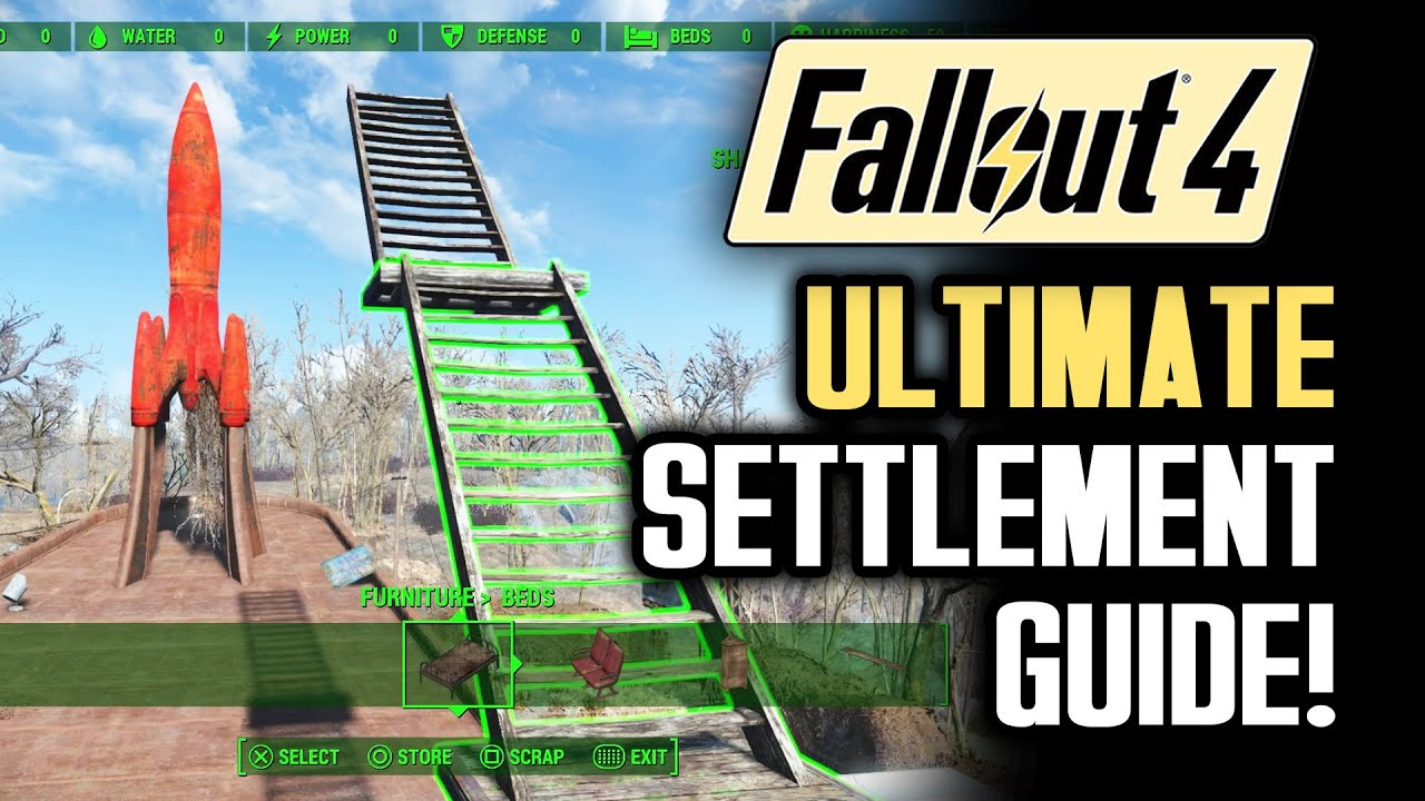Fallout 4 tips ultimate settlement building guide a for Home building guide
