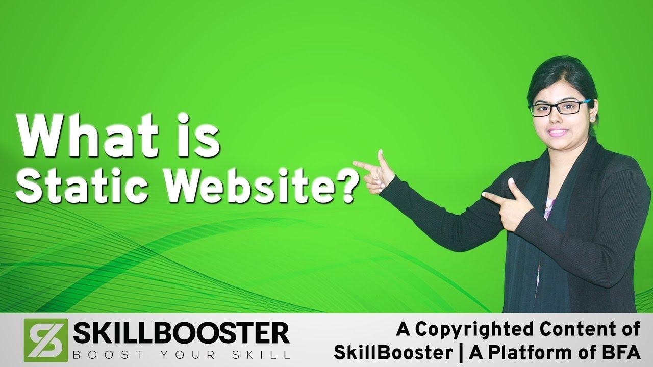What is Static Website? স্ট্যাটিক ওয়েব সাইট কি?
