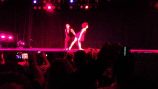 Javier Campines & Stephanie Ballena Performance at Reno Winter Bachata Festival 2012