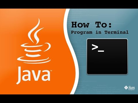 How To Compile And Run Java Programs Using Terminal