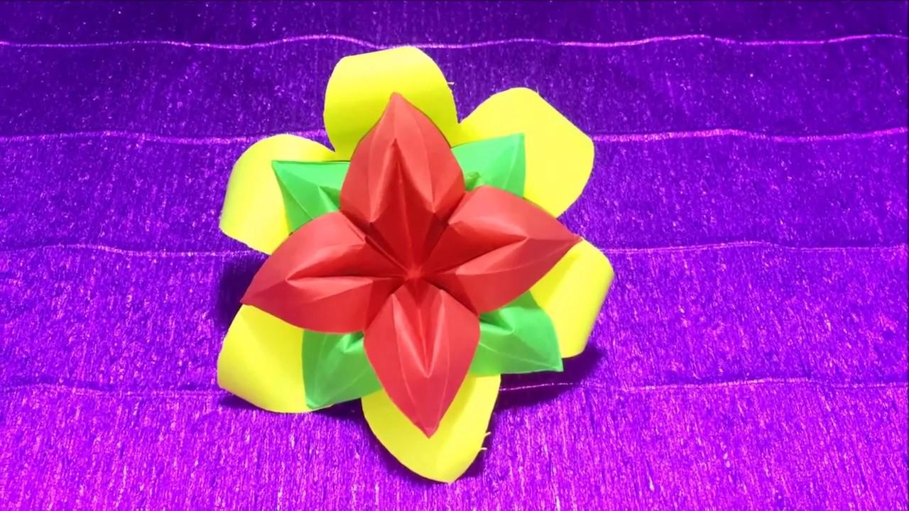 How to Make a Paper Flower DIY - crafts Tutorials