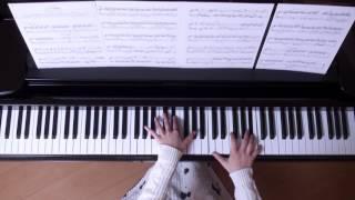 アシタカせっ記 ピアノ スタジオジブリ 『もののけ姫』 より (美しく響くピアノソロVer.)
