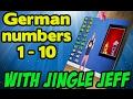 Learn German Numbers One To Ten   Learn German for Kids   Jingle Jeff