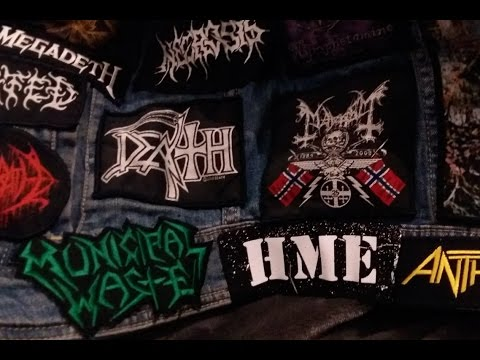 How I sew on band patches - Sew with me ♥ HME Edition