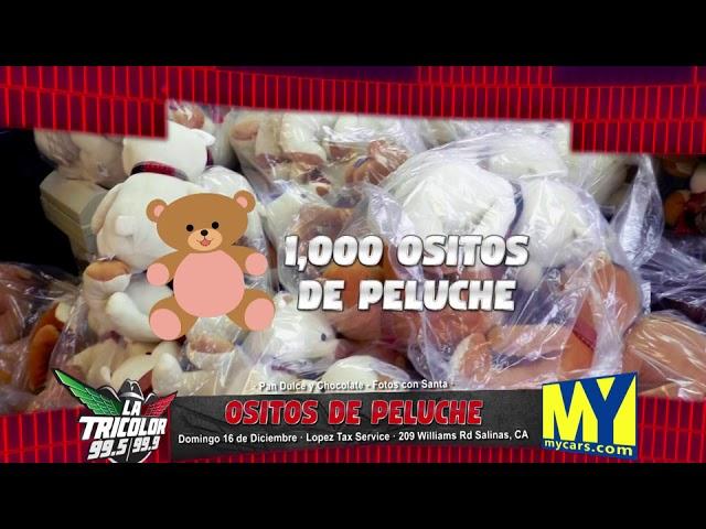 KLOK WH Teddy Bears Giveaway