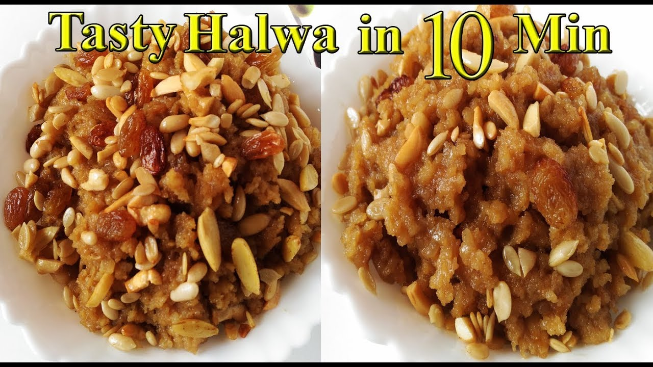 Breakfast Recipes In 10 Min Poha Halwa Dessert Recipes Vegetarian Food Snack Tasty Amazing Vegan Recipes