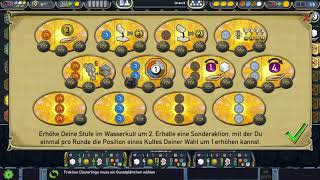 Terra Mystica iOS uncommented Lets Play 1 Round