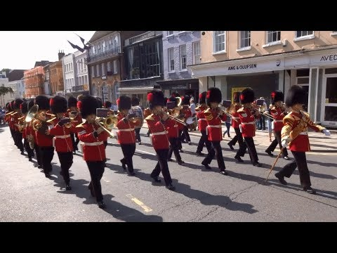 Changing the Guard at Windsor Castle - Friday the 25th of August 2017