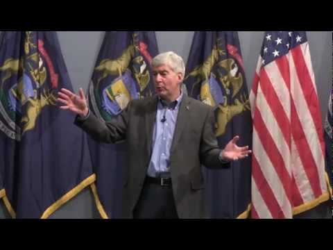 Town Hall with Governor Rick Snyder - January 22, 2013