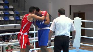 Magomed Omarov (RUS) vs Guido Vianello (ITA)