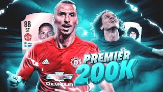 LA MEJOR PLANTILLA PREMIER LEAGUE POR 200K | FIFA 18 ULTIMATE TEAM